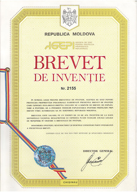 Brevet de Inventie Moldova