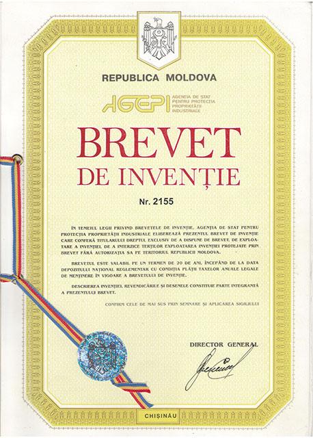 Brevet de Inventie