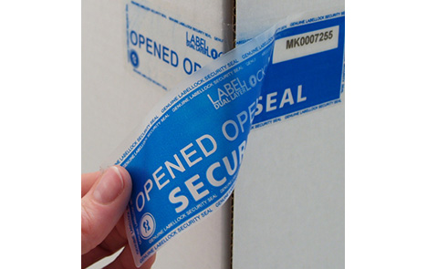 security stickers LabelLock tape – self-adhesive security tape